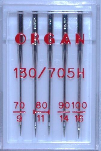 Universal  Size 70-100 Mixed Organ Sewing Machine Needles BLB72