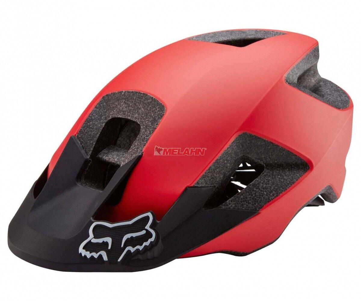FOX MTB-Helm  Ranger, rot schwarz