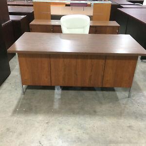 Knoll Desk And Credenza Set Ebay