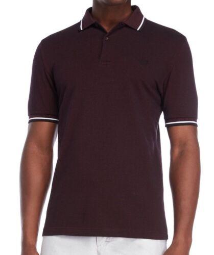 $85 NWT Fred Perry Twin Tipped Polo Shirt Dress Mahogany Black Sz S L XL Ska Mod