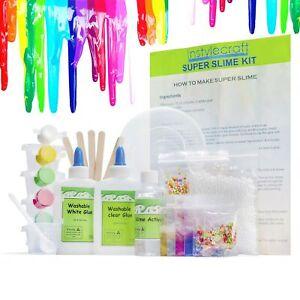 DIY-Slime-Kit-for-Girls-amp-Boys-Make-Glow-In-The-Dark-Clear-Neon-Glitter-Slime
