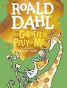 039-The-Giraffe-and-the-Pelly-and-Me-039-Paperback-Book-by-Roald-Dahl