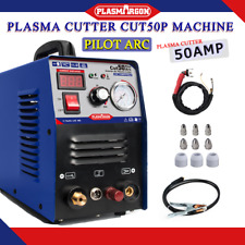 Plasma Cutter Cut50 Pilot 50a110220v Cnc Protable Accessories Amp 1 12mm In Us