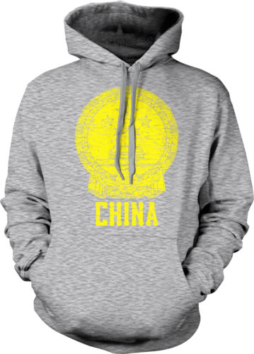 National Emblem of the People/'s Republic of China Pride Zhongguo Hoodie Pullover