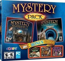 Hidden Object Mystery Pack PC Games Windows 10 8 7 XP Computer seek and find