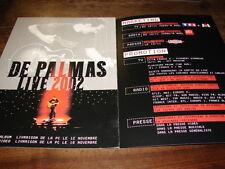 GERALD DE PALMAS - PLAN MEDIA CARTONNE LIVE 2002 !