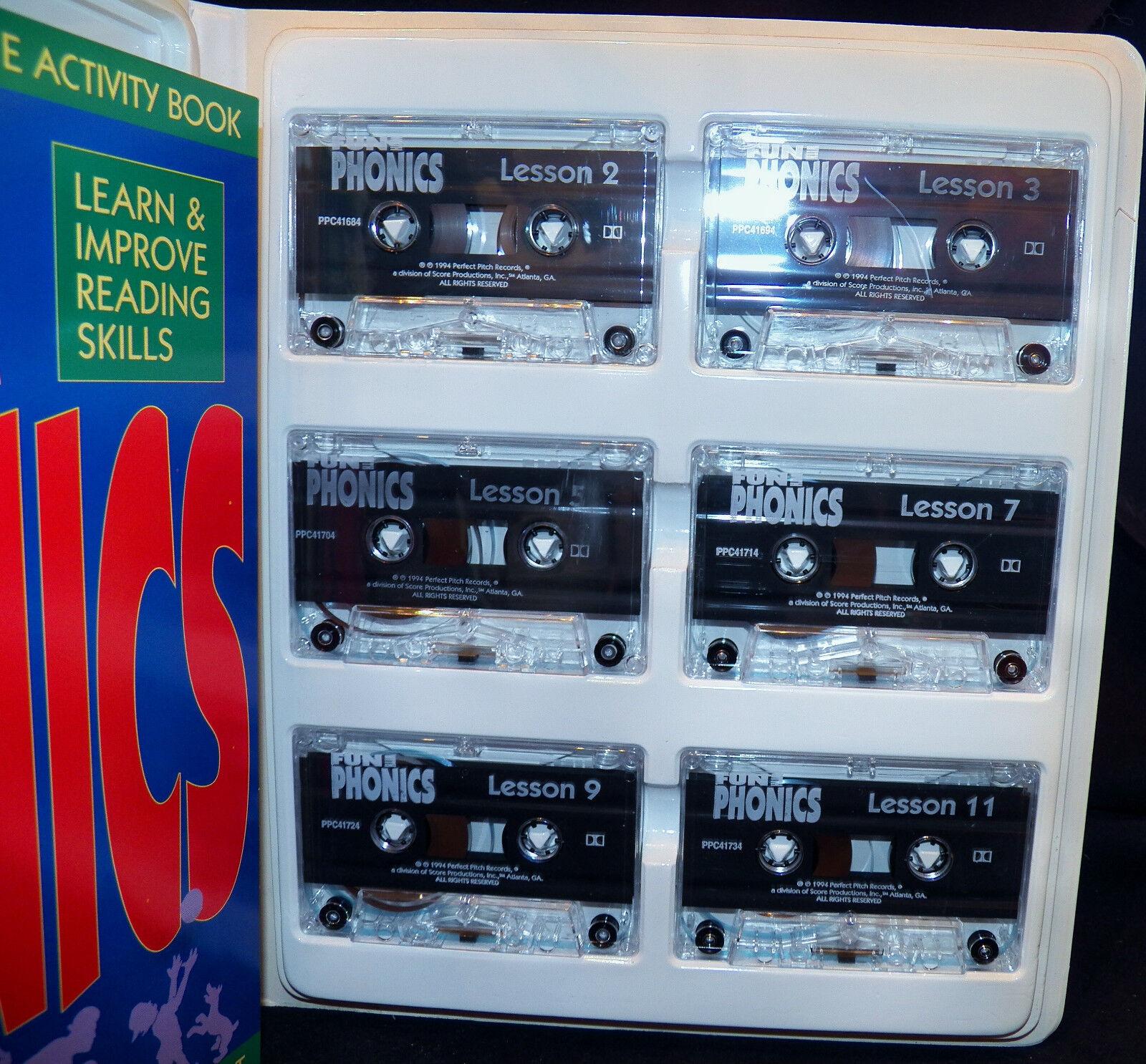 1994 Fun with Phonics Educational Reading Skills 6 Cass