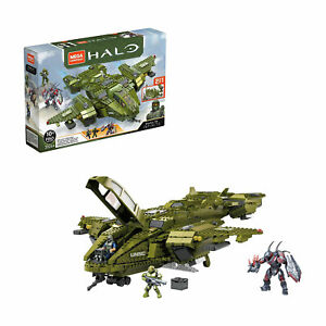 Mega Construx HALO Infinite Pelican Inbound Building Block Toy for Ages 10 & Up