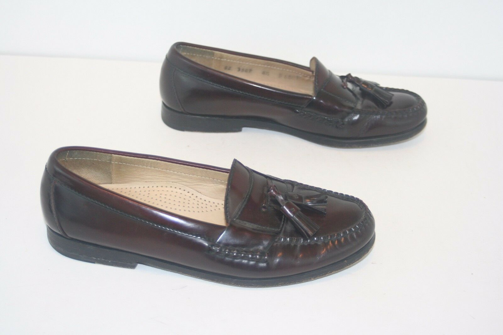 Cole 8.5 Haan City Mens Size 8.5 Cole D Cordovan Tassel Loafers 086f6d