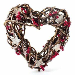 Christmas-Rattan-Wreath-Heart-Door-Hanger-With-Berries-Decoration-Heaven-Sends