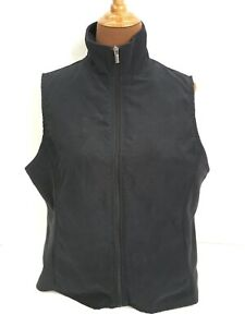 Columbia-Womens-XL-Black-Zip-Vest-Lightweight-Pockets-Polyester-Lined