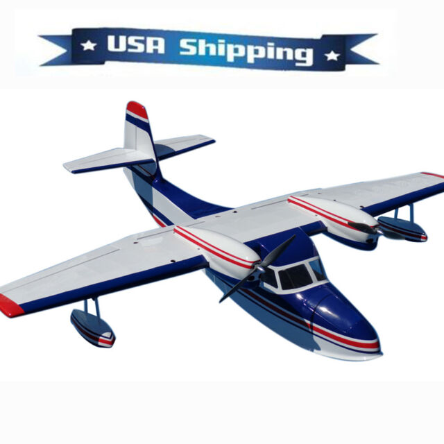 55in Grumman G44 Widgeon RC Airplane Seaplane (fiberglass Balsa) ARF Kit