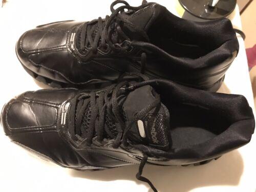 Reebok Zig Energy Matte Black Sz 13 Referee Shoes