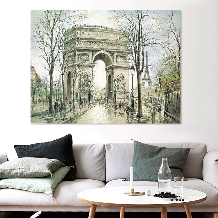 3D Arc de Triomphe 64 Fototapeten Wandbild BildTapete Familie AJSTORE DE