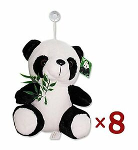 "4/"" Panda Stuffed Plush Wall Window Hanging Animal Toy Birthday Gift US Seller"