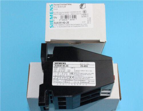 SIEMENS 3UA5940-2E 25-40A   Relay   free shipping