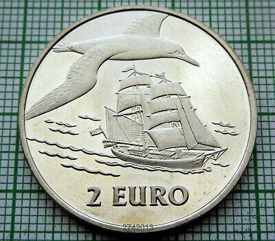 BU BATTLESHIPS HOLLAND NETHERLANDS DEN HELDER SAIL EVENT 1997 2 EURO COIN