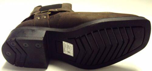 marrone pelle taglia in Stivali motociclista stile I6AWvq