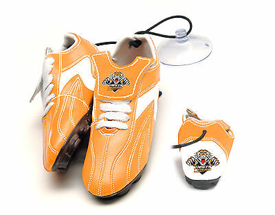NRL TEAM Wests Tigers Hanging Suction Footy Boots Birthday Fathers Day Gift