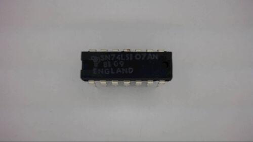 TEXAS INSTRUMENTS SN74LS107AN 14-Pin Dip Flip Flop IC 74LS04 New Quantity-10