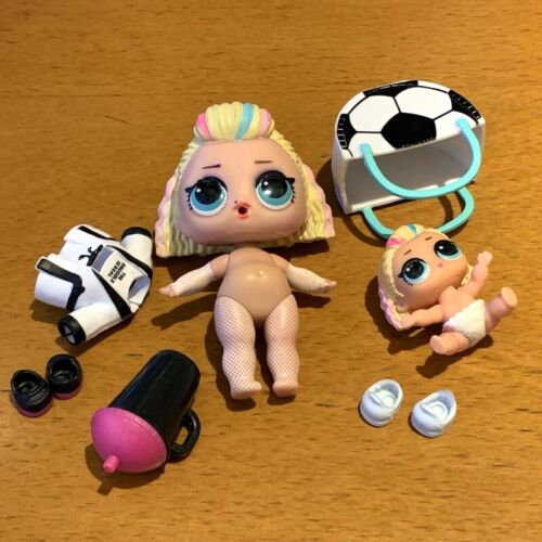 LOL Surprise DOLL 80S BB BABY Family Under Wraps Series 4 /& lil sister toys