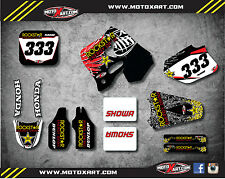 Honda CR 250 - 1992 1993 1994 Full Graphic kit STAR Style Stickers Graphics