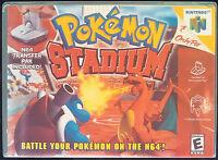 Pokemon Stadium N64 Horizontal High Quality Box Art/case By Retrodan