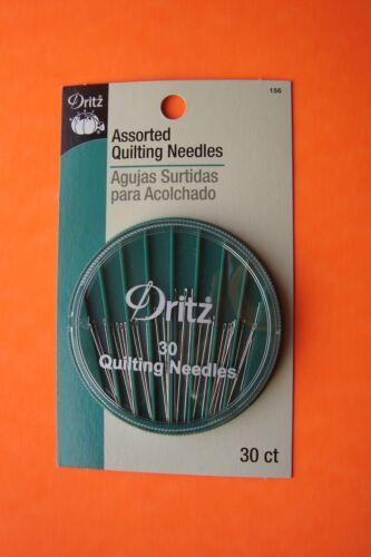 Dritz 30 Assorted Quilting Betweens Needles Size 4-10