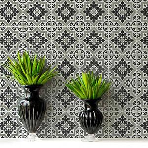 Lyndhurst Tile Stencil - DIY Home Decor - Reusable Stencils