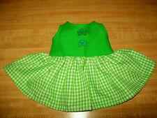 "EASTER BUNNY SPARKLY EGG BASKET DRESS SUNDRESS for 16-18/"" CPK Cabbage Patch Kids"