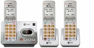 Business-Home-Cordless-Phone-3-Handset-Landline-Set-Expandable-Telephone-AT-amp-T