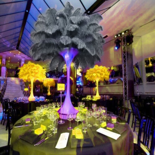 10× Plumes d/'autruche Plume Centre mariage décoration Table 30-35 cm creation PB