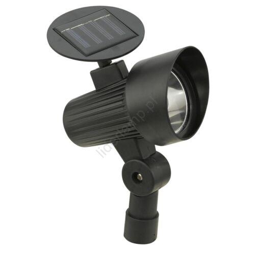 EGLO 90486 Solar Light modern outdoor LED solar spike lamp plastic BLACK