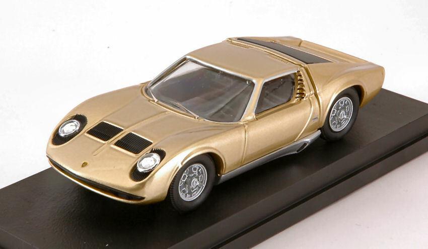 Lamborghini Miura P400S 1969 oro 1 43 Model RIO4590 RIO