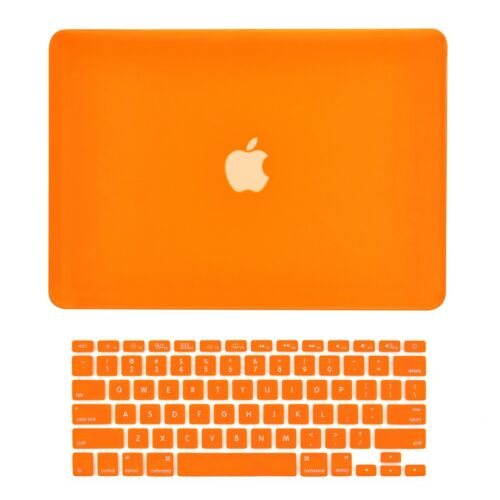 "Unik Case-2 in 1 Matte Hard Case/&Silicone Skin for Macbook 13/"" Air-Orange"