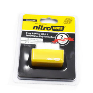 US SALE OBD2 Performance Tuning Chip Box Saver Gas//Petrol Vehicles Plug /& Drive