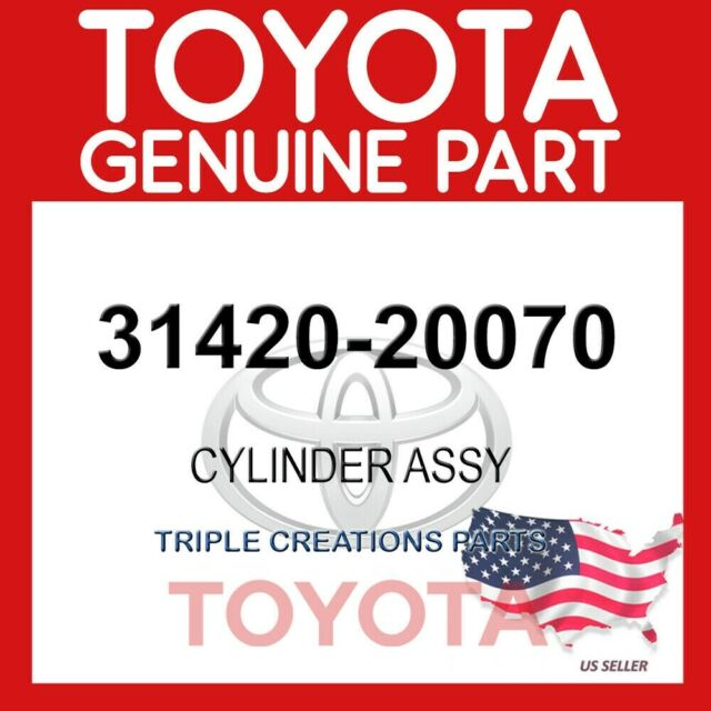 Oem Toyota Parts >> 3142020070 Genuine Toyota Cylinder Assy Clutch Master 31420 20070