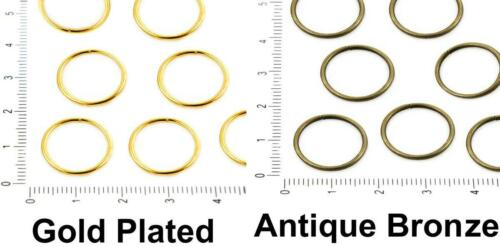 Bulk Open Jump Ring Linking Round Donut For Jewelry Making Metal Findings Gau...