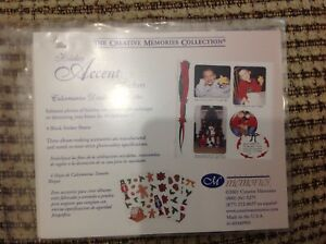 Creative Memories Holiday Potpourri Pack Stickers Die Cut Paper Christmas Sealed