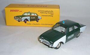 Atlas / Dinky Toys No. 551, Ford Taunus Police Car, - Superb Mint.
