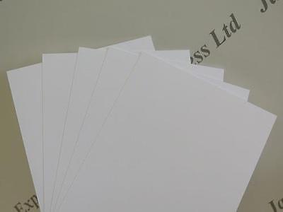 40 x A6 148 x 105mm Black Matt Smooth Card 270gsm Cardmaking /& Scrapbooking AM65