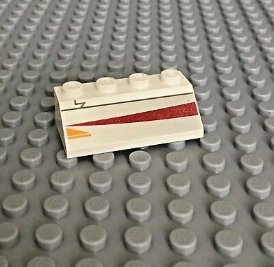 LEGO White 2x4 Jedi Starfighter Star Wars Slopes