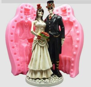 Bride and Groom 3D Wedding Chocolate Mould