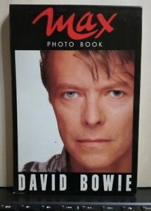 NO-CD-LP-MC-DAVID-BOWIE-PHOTO-BOOK-MAX-30-CARTOLINE-cm-16-x-cm-12-1990