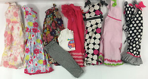 Girls-Size-5-6-Years-9-Piece-LOT-Dresses-Gymboree-Old-Navy-Baby-Lulu-YoungLand