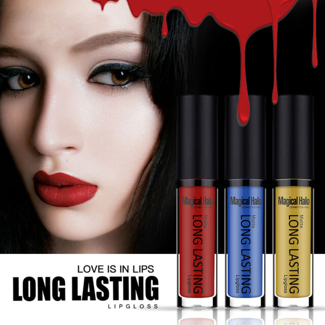 Magical Halo Matte Long Lasting Lip Gloss Makeup Waterproof Liquid Lipstick