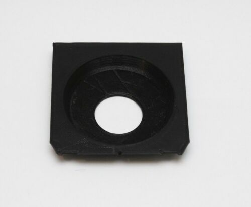 Lens Board for Linhof Wista Shen hao Ebony copal #0 Recessed 12mm offcenter hole