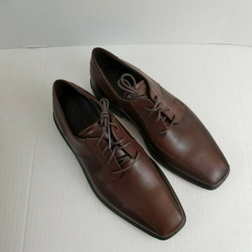 Hommes Ecco 5 Minneapolis Taille En 41 7 eur Nous Chaussures De Vison Cuir 7 665Bw0r
