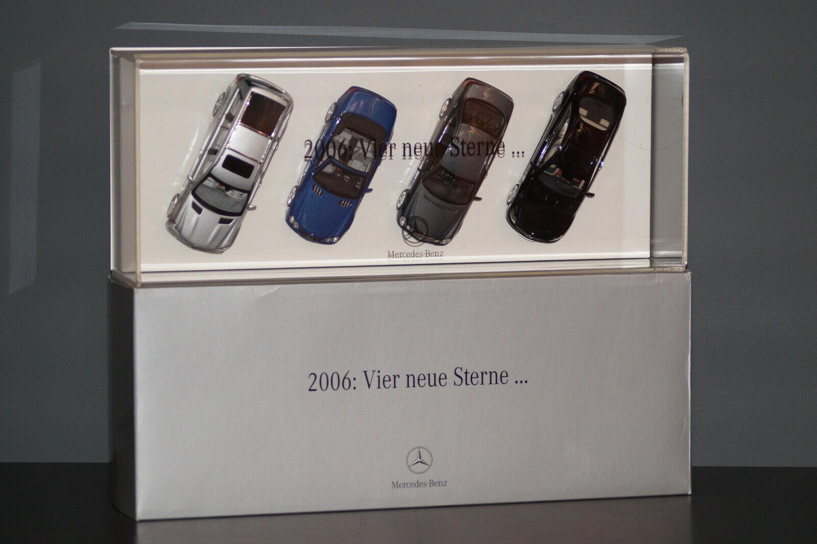 Mercedes Benz 2006  Quatre nouvelles étoiles... GL SL E CL Classe Lim 1 OF 550 1 43 PROMO