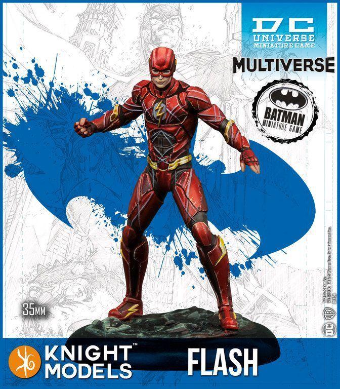 The Flash (Ezra Miller) Multiverse 35mm Batman Miniature Game dc universe knight